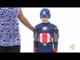 Avengers Halloween Costumes Captain America Avengers Classic Muscle Child Halloween
