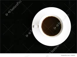 Top Of Coffee Cup Beverages Coffee Cup And Saucer Stock Picture I1809523 At
