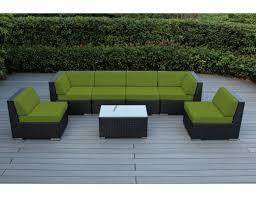 Wicker Deep Seating Patio Furniture by Ohana Depot Ohana 7 Piece Deep Seating Group With Cushion