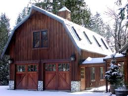 Barn Style Garage With Apartment Plans 25 Best Barn Garage Ideas On Pinterest Barn Shop Pole Barn