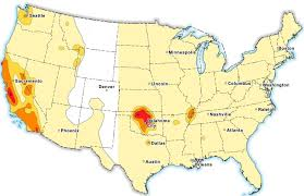 Washington Area Code Map by 7 Million Americans At Risk Of Man Made Earthquakes Usgs Says