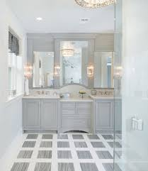 beautiful grey master bathroom the different textures