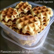 recette de cuisine de grand mere les gaufres liégeoises de ma grand mère cuisine de sylvie