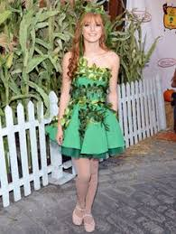 Green Ivy Halloween Costume Trick Chic Celebrities Inspired Halloween Costumes Costume
