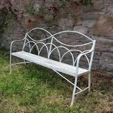 Vintage Wrought Iron Patio Furniture - antiques atlas antique regency wrought iron garden seat bench
