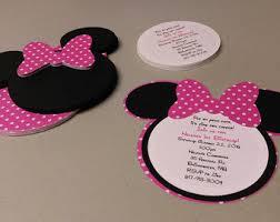 minnie mouse invitations diy minnie mouse invitations in light pink birthday invitation
