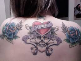skull ed hardy skull tatto on pictures