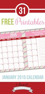 printable planner january 2015 day 7 january 2015 calendar printable calendars january 2015