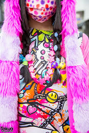 super colorful harajuku decora in colorful street style w super lovers