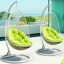 Swinging Ball Chair Outdoor Swing Chair With Stand