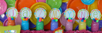 Centerpieces For Kids by Polka Dot Birthday Party Dimple Prints