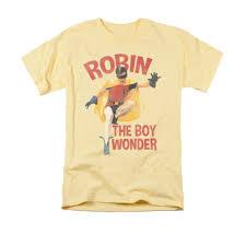light yellow t shirt batman 1966 robin the boy wonder light yellow t shirt dc shop