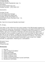 best sample cover letter for accounts payable clerk 22 on cover