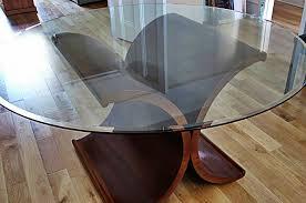 Glass And Oak Dining Table Set Bespoke Tables Oak Tables Oak Bespoke Furniture