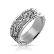 stainless steel mens rings stainless steel tribal zodiac mens ring