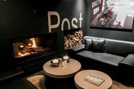 hotel post in zermatt in modern mountain lodge style favorite