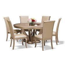 allegro 7 pc dining room american signature furniture formal