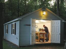 put a shop in a shed finewoodworking