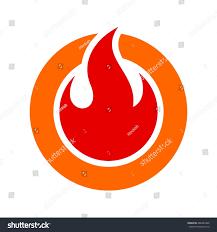 fire flame fire logo vector template stock vector 282483296