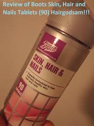 boots hair review of boots hair skin and nails tablets