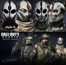 Call Duty Ghosts Halloween Costumes Call Duty Ghost Skull Ghosts Extinction Dlc Cs Wargame