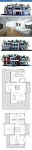 Modern House Plans With Photos Modern House Plan With Four Bedrooms Suits Well To Lot With Big