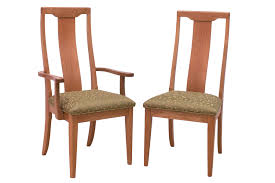 Cherry Dining Chair Brentwood Transitional Cherry Dining Chairs Mission Shaker