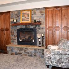 moose mountain ledge thin veneer from montana rockworks installed