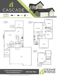 Cascade Floor Plan Floorplan Library Cedarridgehomes
