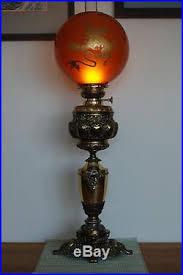 antique old kerosene oil banquet parlor glass victorian gwtw