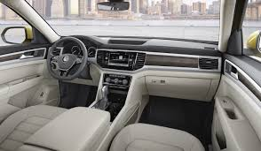 volkswagen california interior 2018 vw atlas is a brand new 7 seater large crossover for north