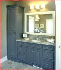 bathroom vanity and linen cabinet combo bathroom vanity with linen cabinet copperpanset club