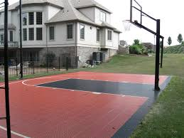 Backyard Sport Courts by Gym Floors And Outdoor Courts Installations For Commercial