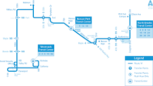 Marta Route Map by Omaha Metro Route 14