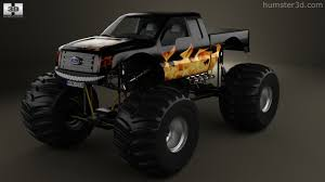 Ford F150 Truck 2012 - 360 view of ford f 150 monster truck 2012 3d model hum3d store