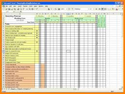 Monthly Budget Planner Spreadsheet 8 Wedding Budget Excel Spreadsheet Packaging Clerks