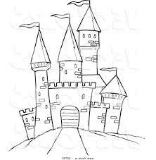 simple castle drawing 10 pics of simple castle coloring pages lego
