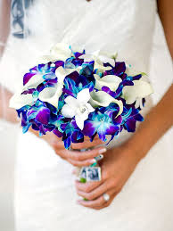 wedding bouquet the best blue wedding flowers and 16 gorgeous blue bouquets