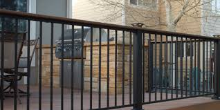 fortress railing best aluminum cable glass u0026 iron rail designs