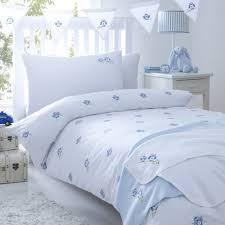 Childrens Cot Bed Duvet Sets Blue Cot Bed Duvet Cover