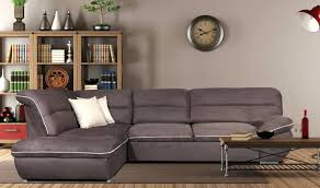 Fabric Sectional Sofa With Recliner by Modern Fabric Sectional Sofa Bed Jedd Reclining Reviews Sofas