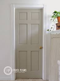 Painting 6 Panel Interior Doors Paint Interior Doors Tips And Tricks Changing The Color Of An