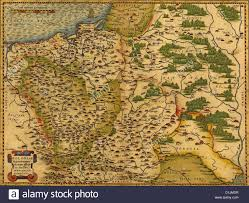 Baltic Sea Map Antique Map Of Poland And The Baltic Sea By Abraham Ortelius