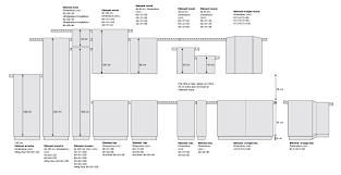 Meuble Cuisine Inox Ikea by Dimensions Meubles Cuisine Ikea