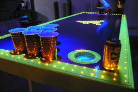 custom beer pong tables beer pong tables led beblincanto tables what is beer pong tables