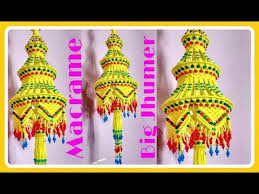 Making Chandeliers At Home How To Make Handmade Macrame Flower Basket Full Step By Step Video