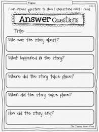 3rd grade reading comprehension questions reading response worksheets graphic organizers and printables