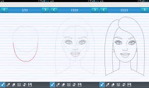 draw barbie easy step android apps google play