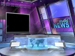 tv studio desk virtual sets 3d computer animation 4 green blue chroma key