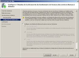 service bureau distance partie iii installer terminal server